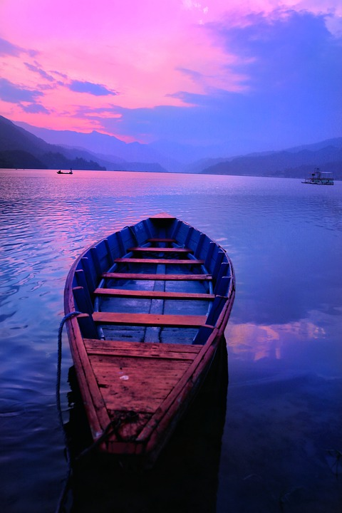 Sky, Lake, Beauty, Beauty Of Nepal, Nepal, Reflection