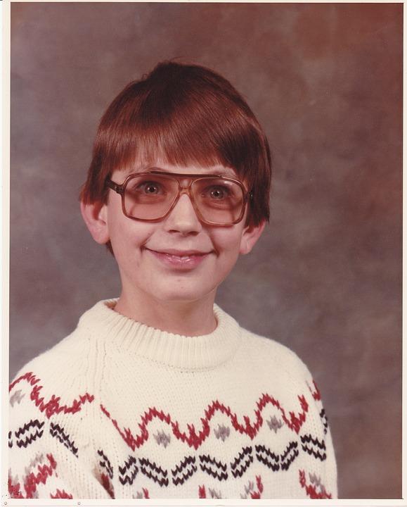School Boy, Nerd, Spectacles, Glasses, Boy, Teenager