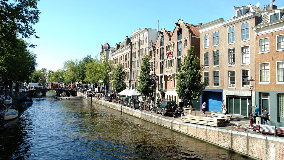 Amsterdam, Amsterdam Canal, Canal, Netherlands, Water