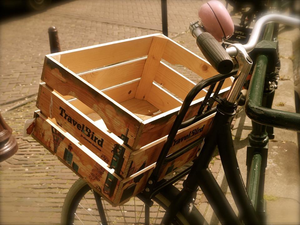 Amsterdam, Netherlands, Bike, Mood, Transport, Box