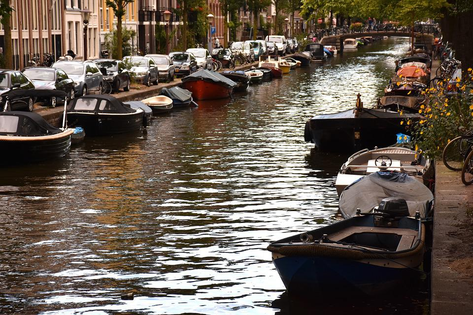 Amsterdam, Canal, Boot, Channel, Netherlands, Holland