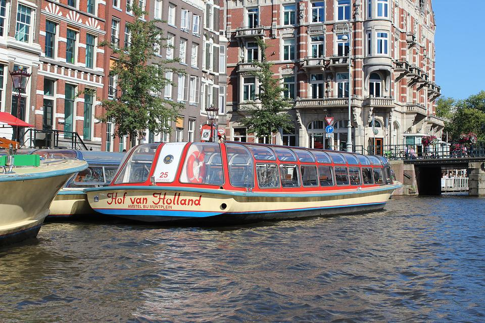 Canal, Amsterdam, Netherlands, Tourism, Water, City