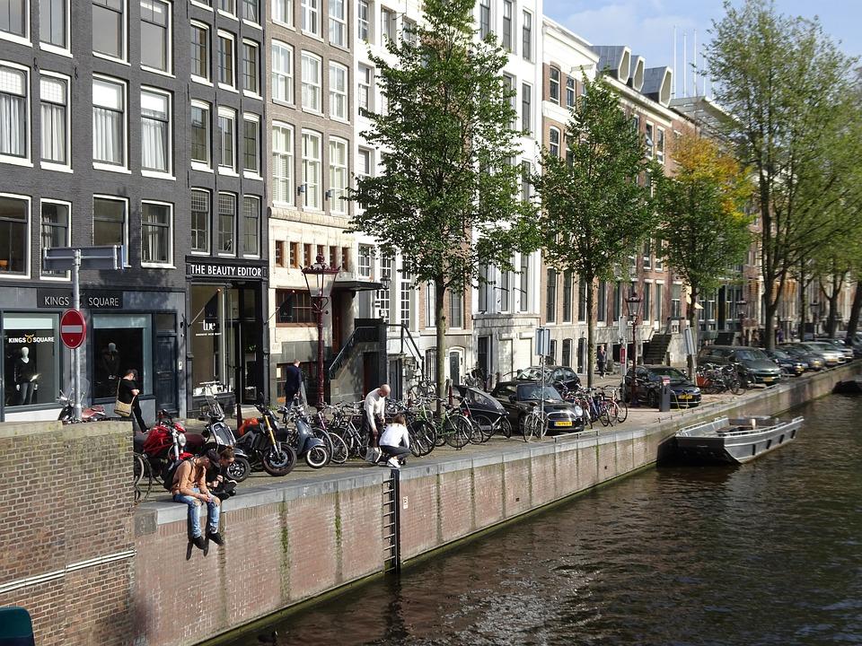 Amsterdam, City, Netherlands, Dutch, Water, Travel
