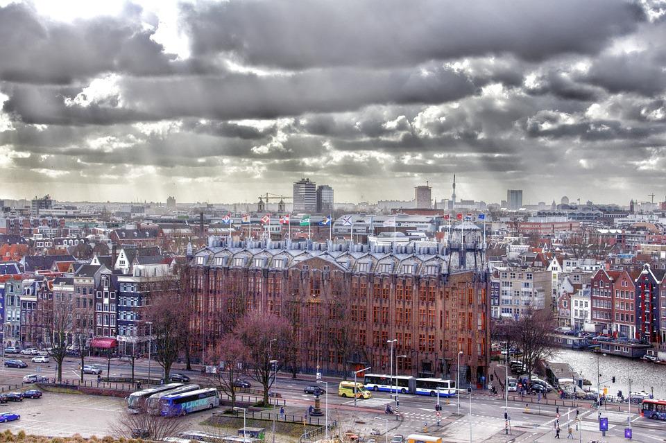 Amsterdam, Center, Town, Netherlands, City