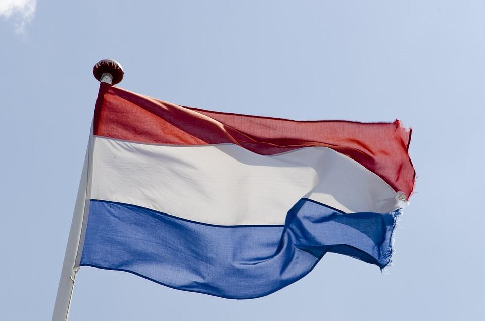 Dutch Flag, Flag, Red, White, Blue, Dutch, Netherlands