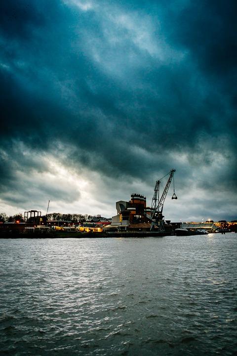 Utrecht, Harbour, Water, Port, Netherlands, Holland