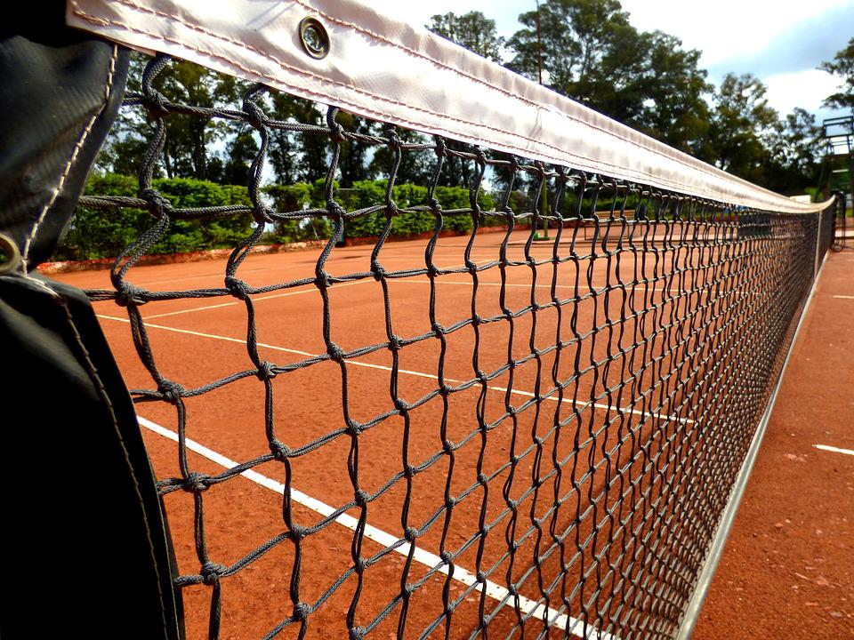 Network, Tennis, Clay, Strapping