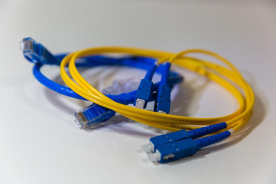 Fiber Optics, Fiber, Optics, Network, Networking