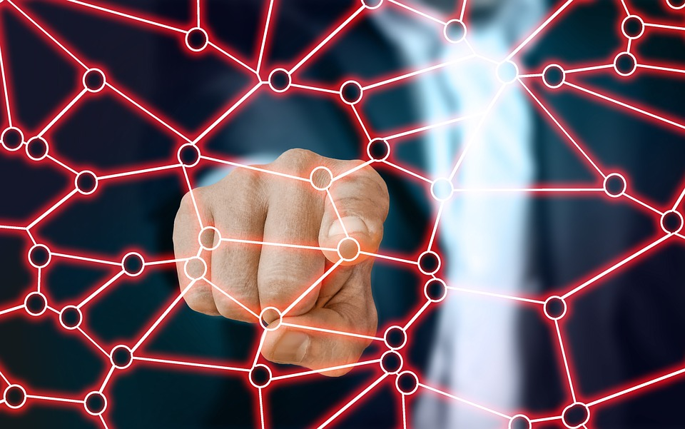 Finger, Touch, Hand, Structure, Internet, Network