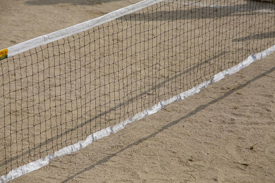 Network, Playground, Hope, Game, Foot Volleyball