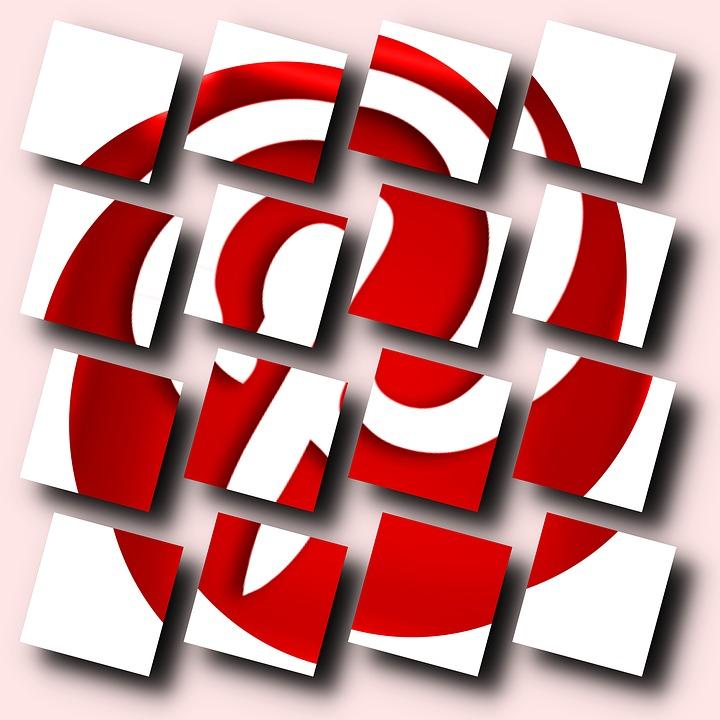 Pinterest, Pinterest Logo, Social Media, Network, Red