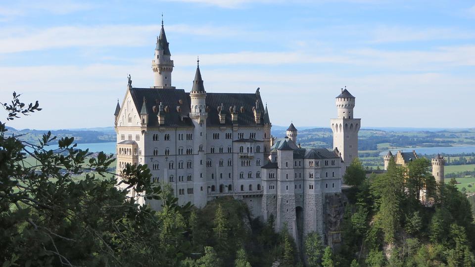 Neuschwanstein, Castle, Architecture