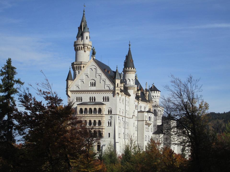 Neuschwanstein Castle, Germany, Bavaria, Castle