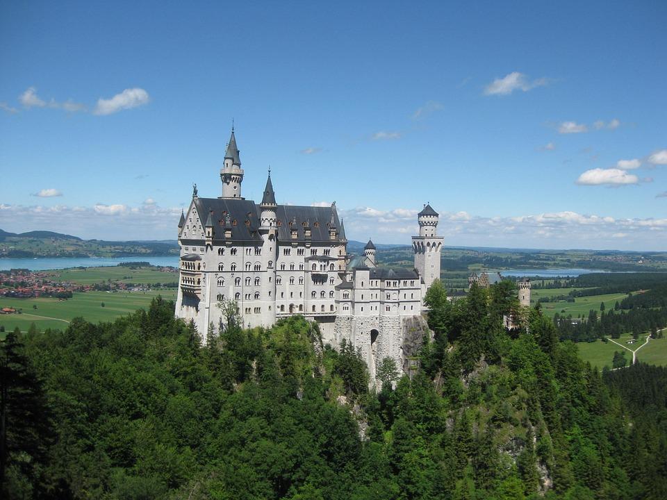Castle, Kristin, Neuschwanstein Castle, Fairy Castle