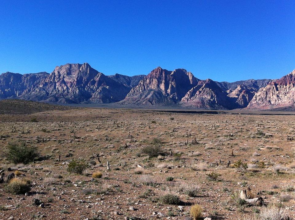 Desert, Nevada, Mountain