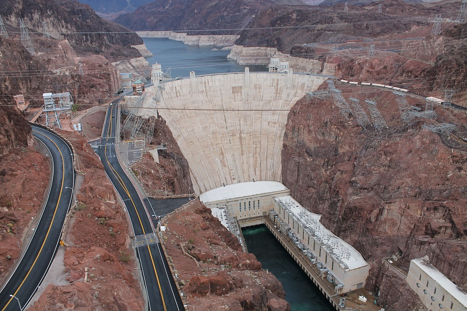 Hoover Dam, Colorado River, Nevada, Arizona