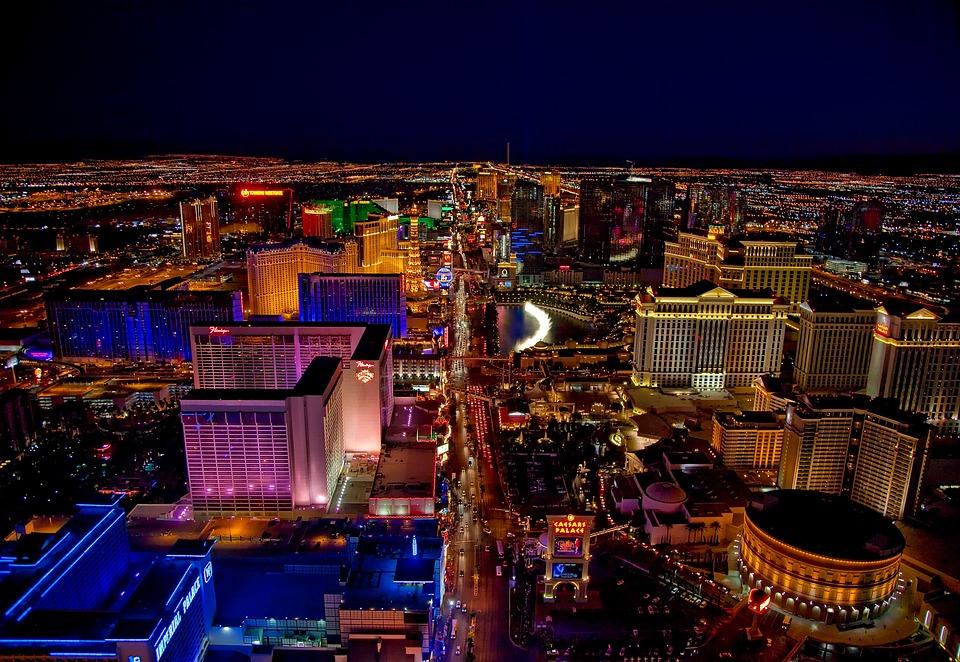 Las Vegas, Nevada, Cities, Urban, Skyline, Buildings