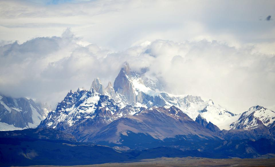 Patagonia, Peaks, Neves, Mountain, Nature, Landscape
