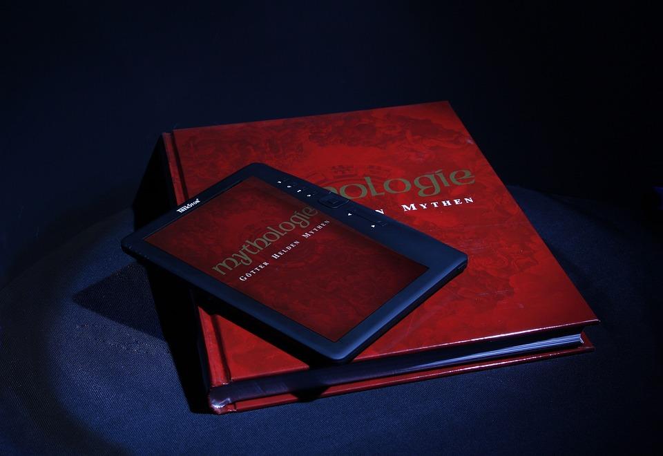 E-book, Book, Read, Old, New, Bimetall, Analog