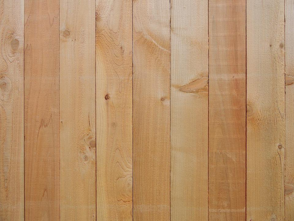 Wood, New, Fence, Natural, Testure, Background