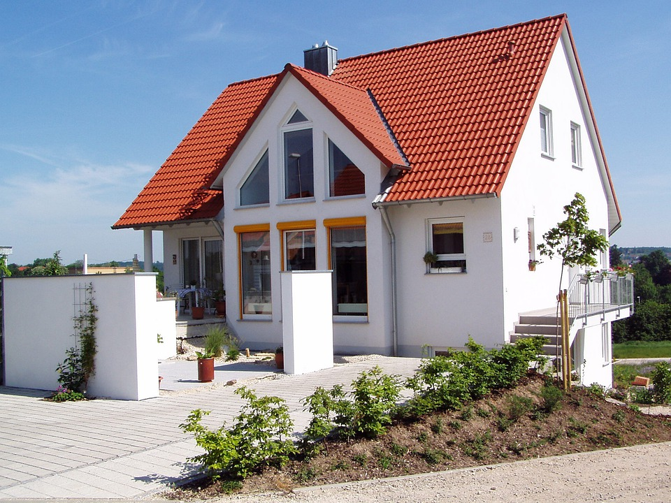 House, New Building, Home, Apartment