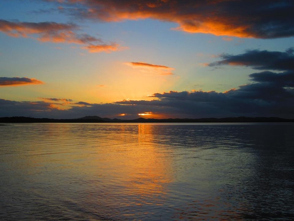 Sunset, Ocean, New Caledonia
