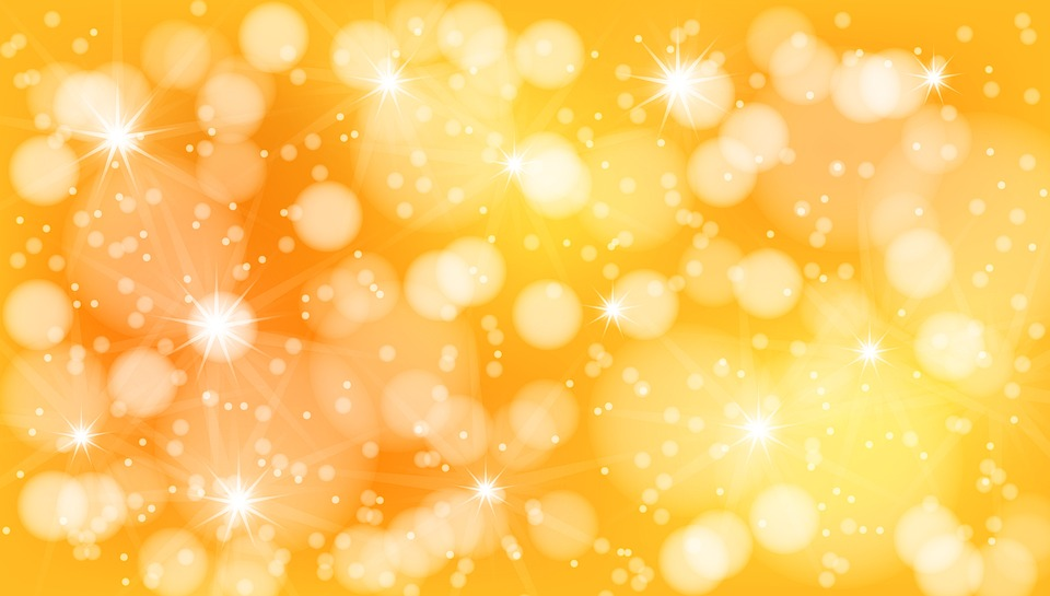 Background Abstract Christmas New Year Gold Shiny