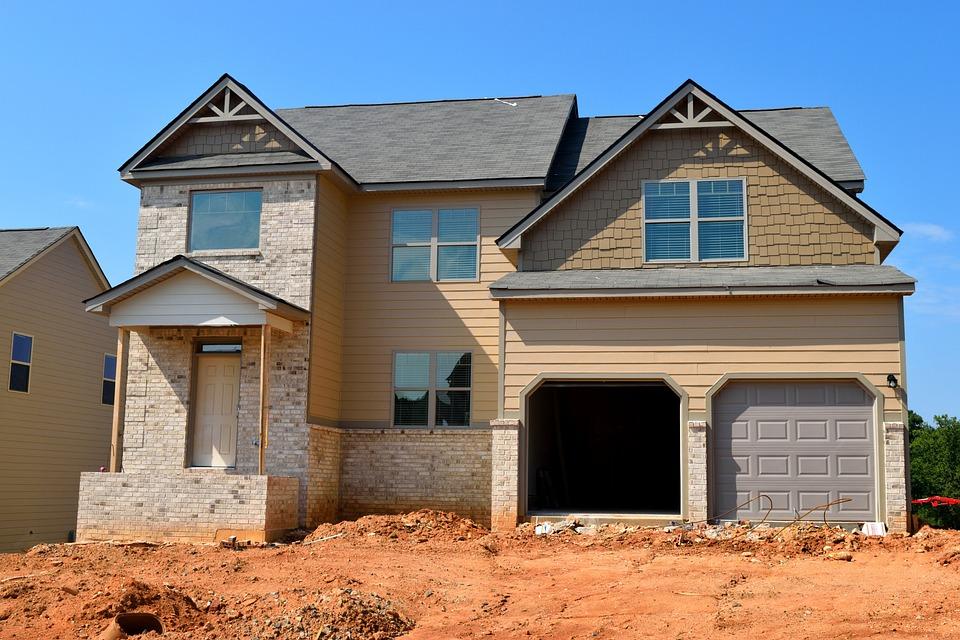 New Home, Construction, Real Estate, Landscape
