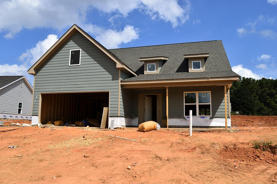 Free photo new home house construction home estate site for Home construction websites