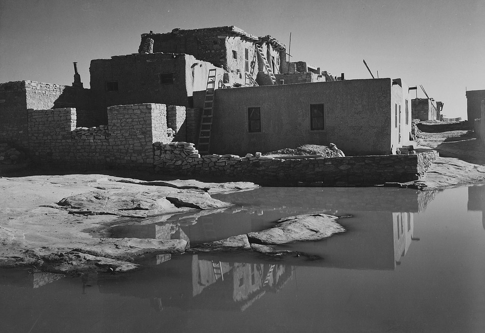 New Mexico, 1930s, Black And White, Nature, Outside