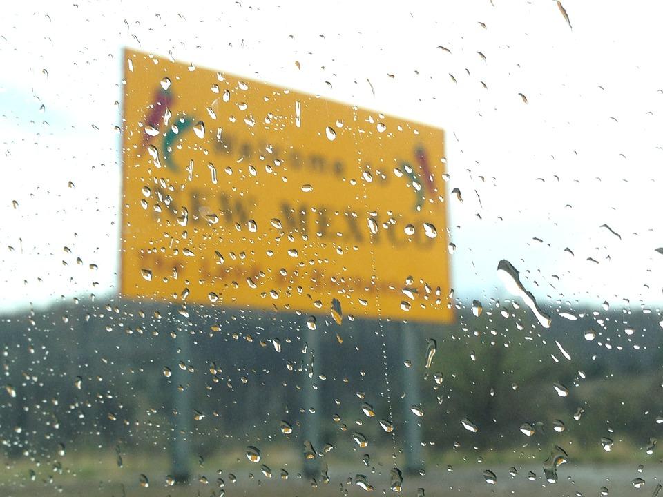 New Mexico, Welcome, Sign, America, Usa, Tourism