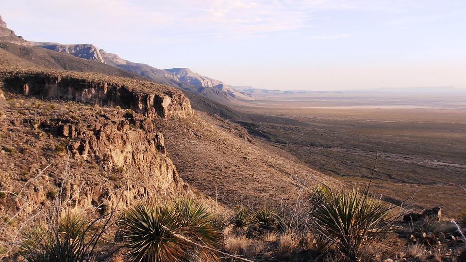 New Mexico, Desert, Landscape, Nature, Usa