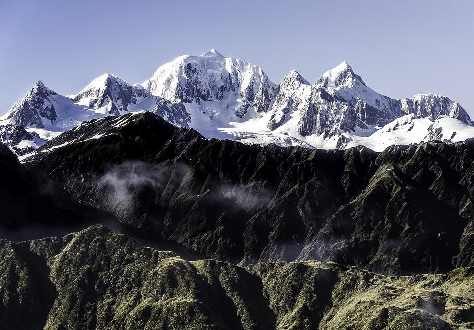 Mountains, New, Zealand, Landscape, Nature, Outdoors