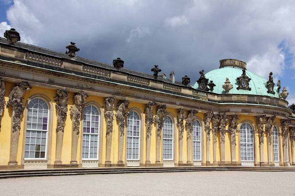 Potsdam, Sanssouci, Park Sanssouci, New Palais, Castle