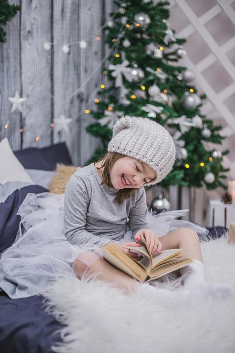 New Year's Eve, Kids, Child With A Book, New Year