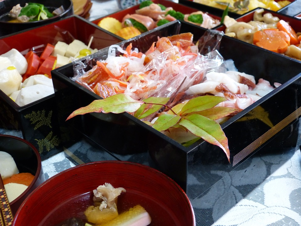 Japanese Food, New Year Cuisine, New Year Dishes