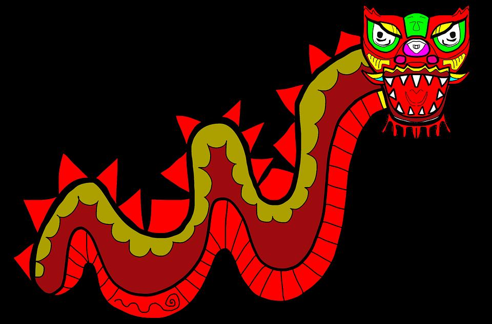 Dragon, China, New Year, New Year Dragon, Child