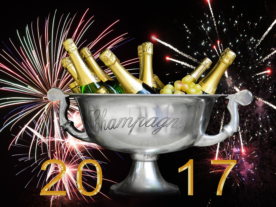 New Year's Eve, 2017, New Year's Day, Turn Of The Year
