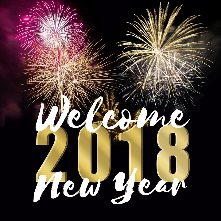 New Year's Day, 2018, New Year's Eve, Turn Of The Year