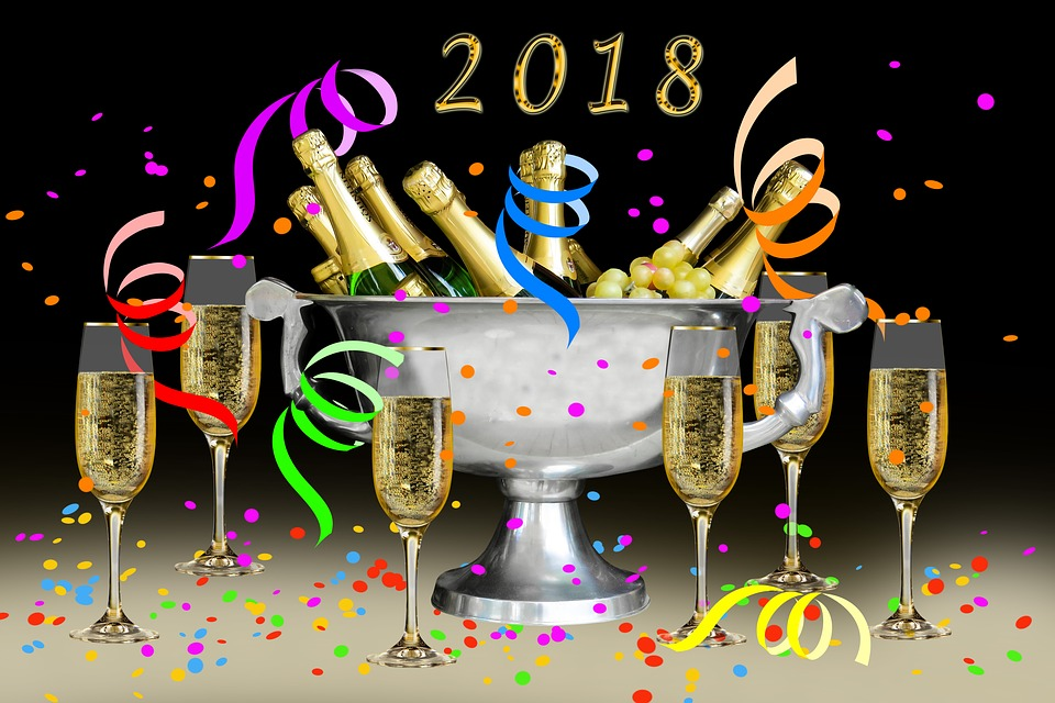 Emotions, New Year's Day, New Year's Eve, 2018