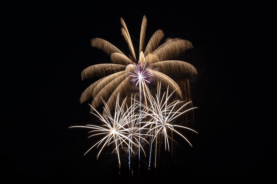 Fireworks, Sky, Festival, New Year's Eve, Pyrotechnics