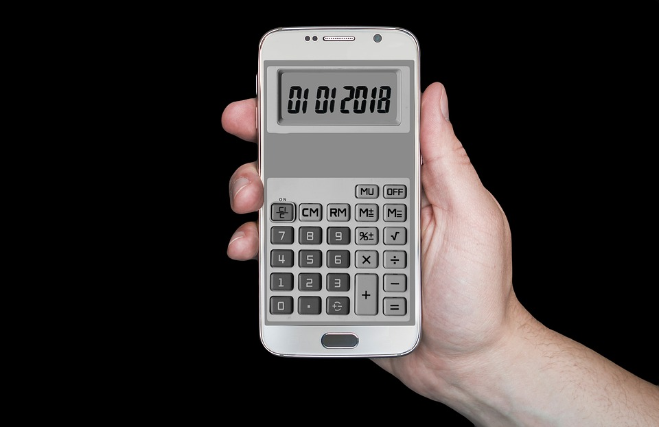 Calculator, New Year's Day, Date, New Year's Eve, Year