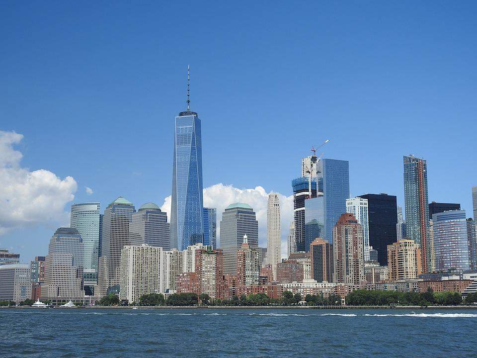 New York, City, America, 1 World Trade Center