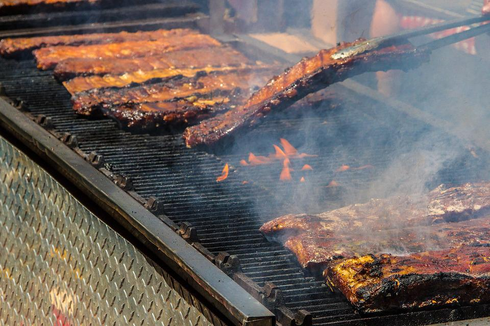 Barbecue, Fire, Meat, New York, Ribs, Smoke
