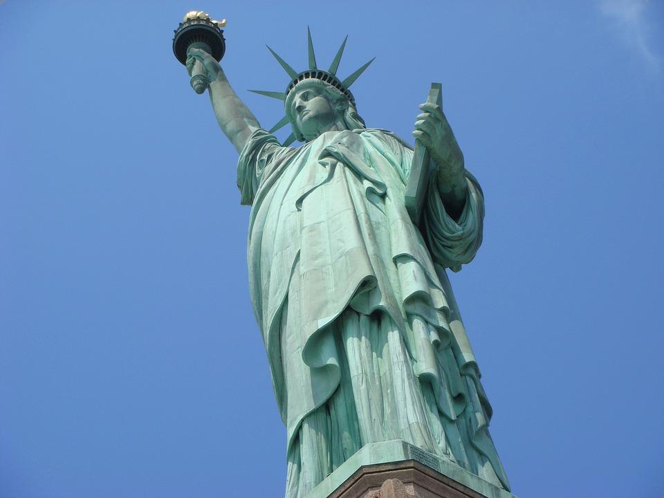 Statue Of Liberty, New York City, America, Freedom