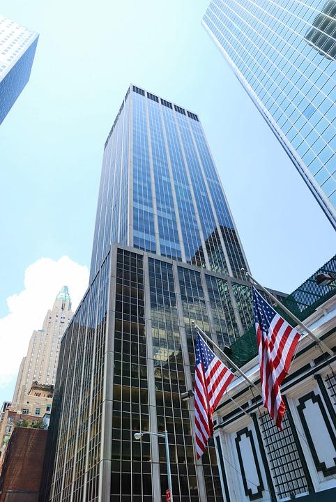 Skyscraper, Building, Architecture, New York City, Sky