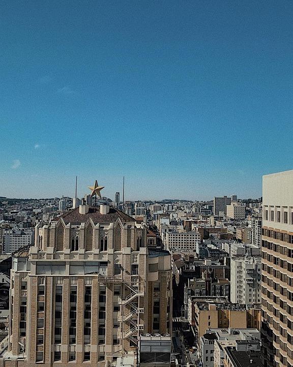 Buildings, Castle, Urban, City, New York City