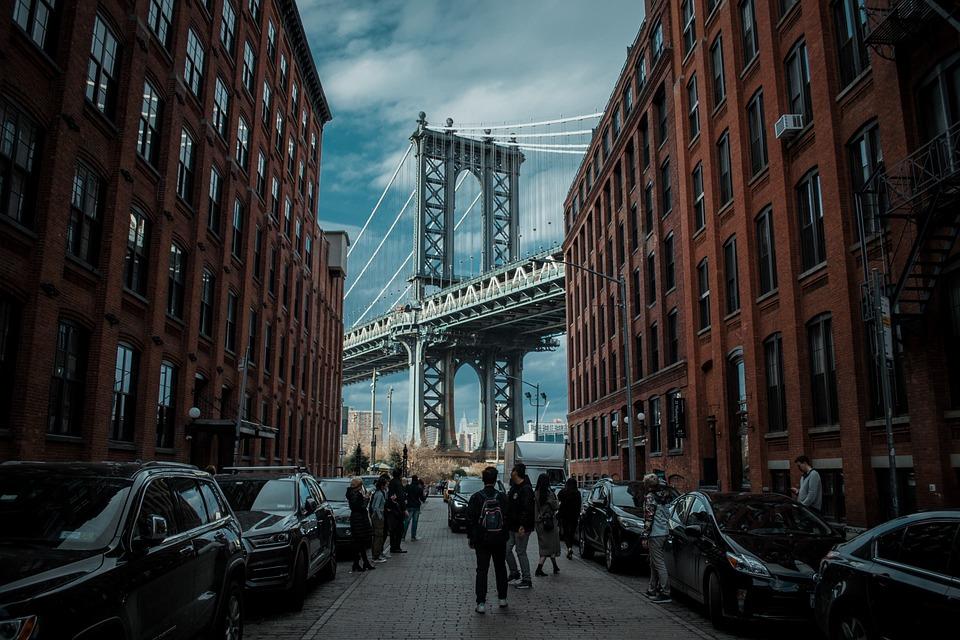 Dumbo, Manhattan Bridge, Nyc, New York City, Bridge