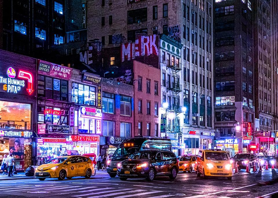 New York, Usa, Manhattan, City, The Centre Of, Travel