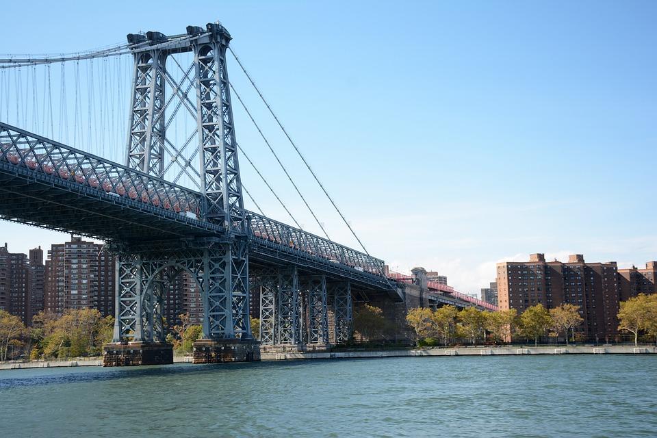 New York, Brooklyn, Bridge, New York City, River, Nyc